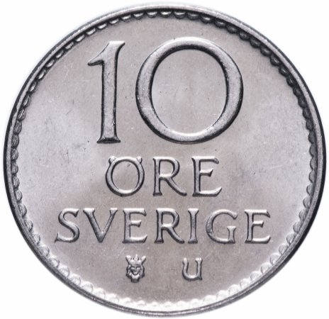 купить Швеция 10 эре 1973