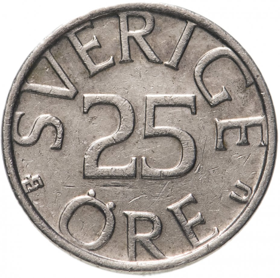 купить Швеция 25 эре (ore) 1976-1984, случайная дата
