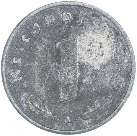 купить Германия Третий Рейх 1 рейхпфенниг 1942