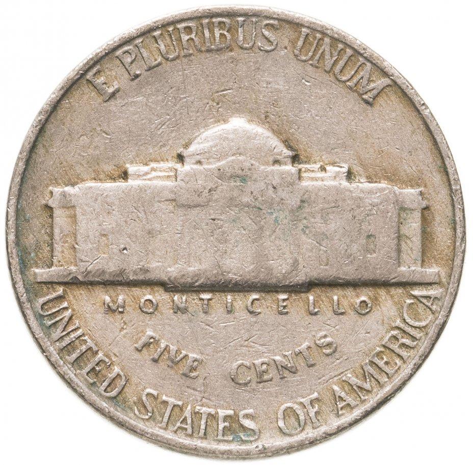 купить США 5 центов (cents) 1938-1949 Jefferson Nickel, случайная дата