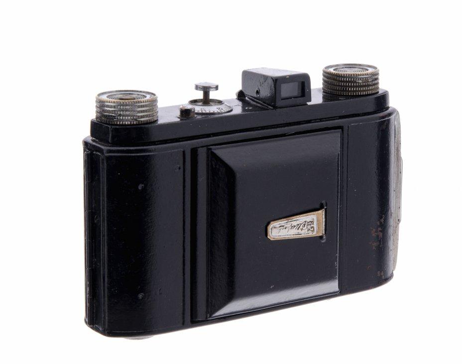 """купить Складной шкальный фотоаппарат """"Welta Weltix"""" с объективом Steinheil Munchen Cassar 1:2.9 f=5 cm, металл, компания Welta, Германия, 1935-1960 гг."""
