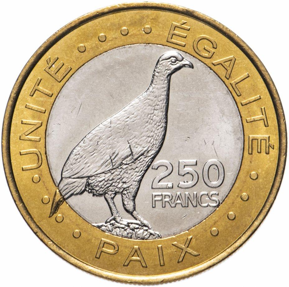 купить Джибути 250 франков (francs) 2012