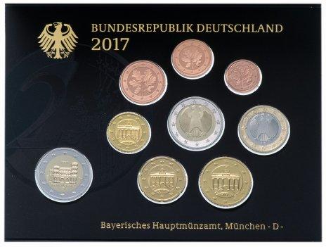 купить Германия годовой набор 2017 в буклете