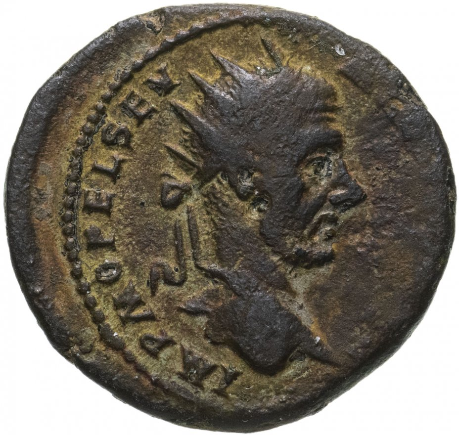 купить Римская империя, провинция Фракия, г. Деультум, Макрин, 217-218 годы, Тетрассарий.