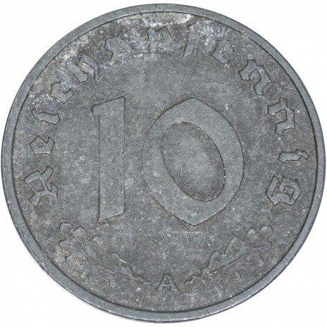 купить Третий Рейх 10 рейхспфеннигов 1943
