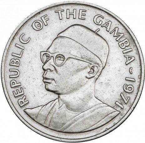 купить Гамбия 50 бутутов 1971