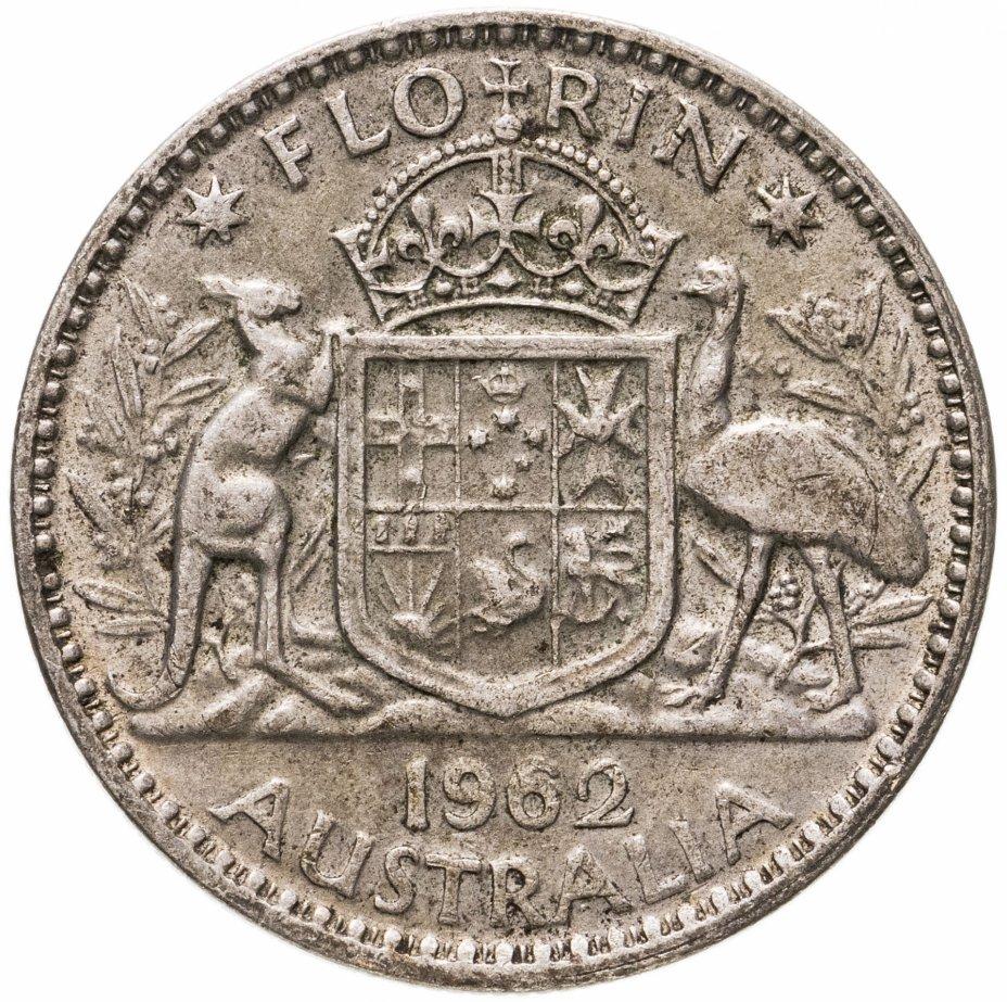 купить Австралия 1 флорин (2 шиллинга, florin) 1962