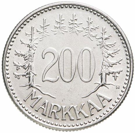 купить Финляндия 200 марок 1957