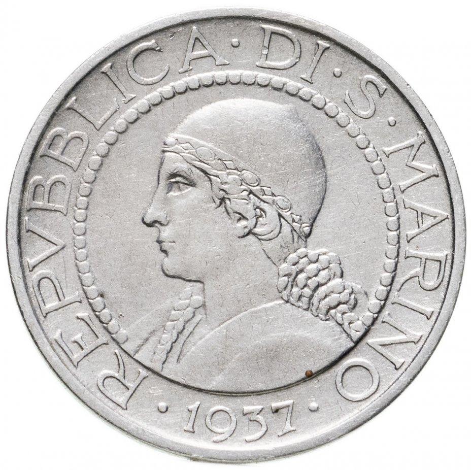 купить Сан-Марино 5лир (lire) 1937