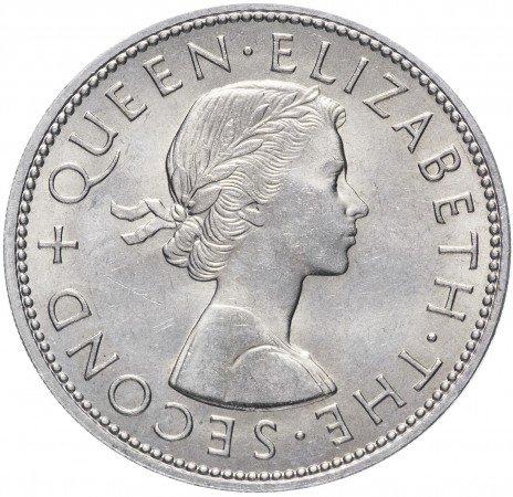 купить Новая Зеландия 1/2 кроны 1962