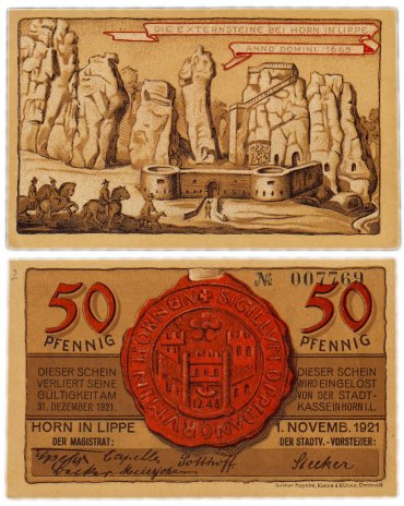 купить Германия (Липпе-Детмольд: Хорн) 50 пфеннигов 1921