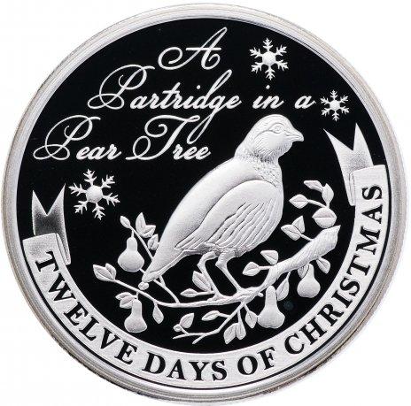 """купить Остров Ниуэ 2 доллара 2009 """"12 дней рождества: день 1-й, куропатка на грушевом дереве"""""""