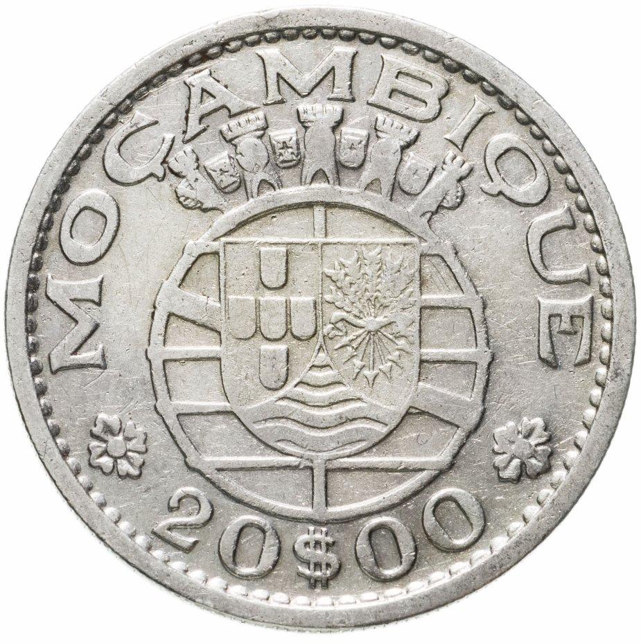 купить Мозамбик 20 эскудо (escudos) 1955