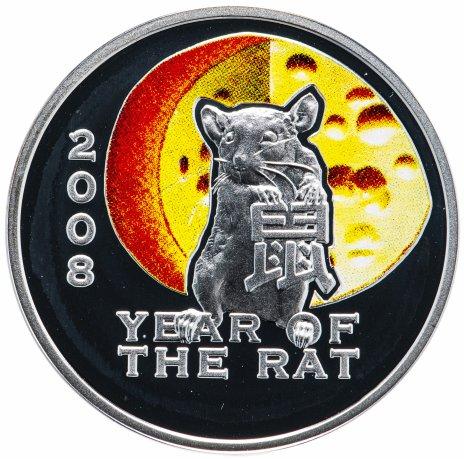 """купить Остров Ниуэ 1 доллар 2007 """"Китайский гороскоп - Год крысы"""""""