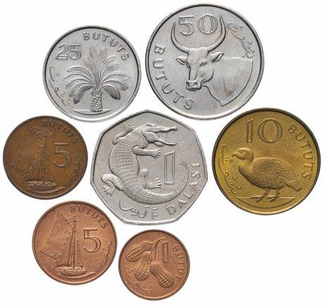 купить Гамбия набор из 7 монет 1971-1998