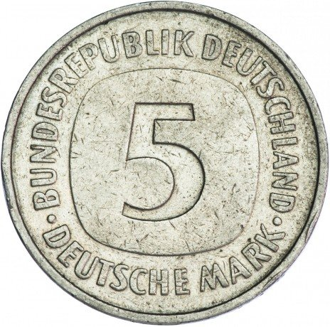 купить Германия 5 марок 1975