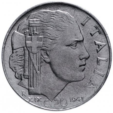 купить Италия 20 чентезимо 1940-1943