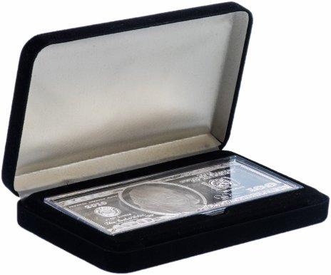 купить США 100 долларов 2010 (инвестиционный слиток Вашингтонского монетного двора) в футляре, с сертификатом