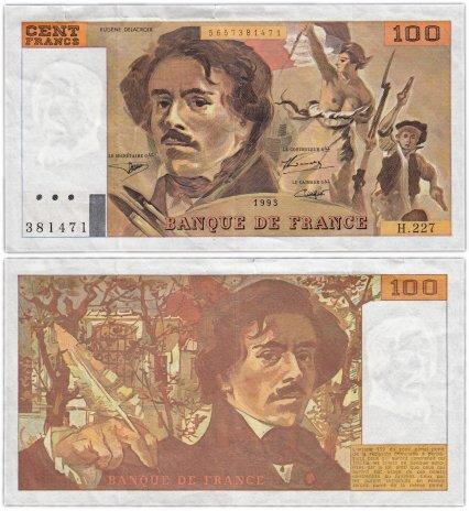 купить Франция 100 франков  1993 (Pick 154g)