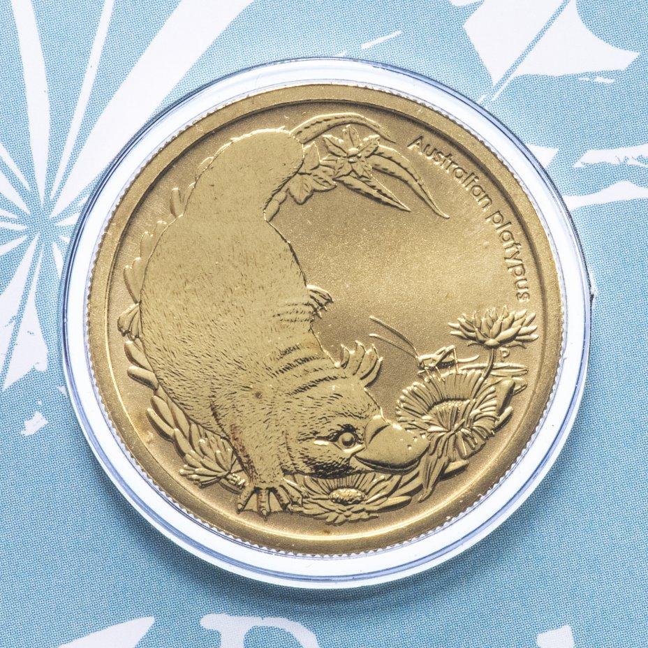 """купить Австралия 1 доллар (dollar) 2013 """"Детёныши диких животных - Утконос"""" (в конверте с маркой)"""