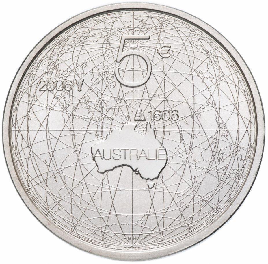 """купить Нидерланды 5 евро (euro) 2006 """"Дружба с Австралией"""""""