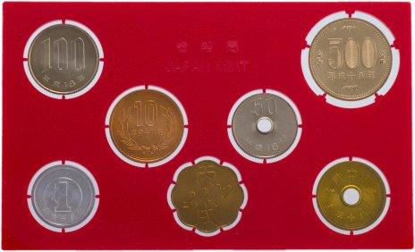 купить Япония Годовой набор монет 2006 (6 монет + жетон)