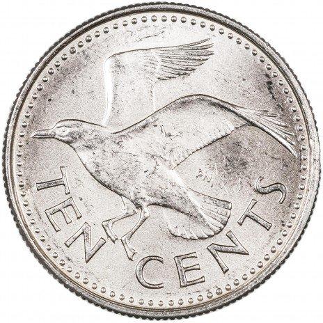 купить Барбадос 10 центов 1975