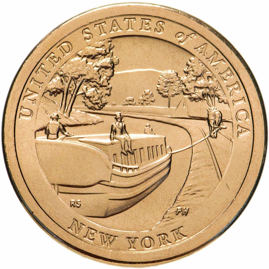 купить США 1 доллар 2021 Американские инновации - Эри-Канал, Р- Филадельфия