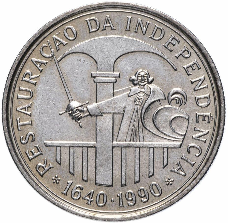 """купить Португалия 100 эскудо (escudos) 1990   """"350 лет со дня восстановления португальской независимости"""""""