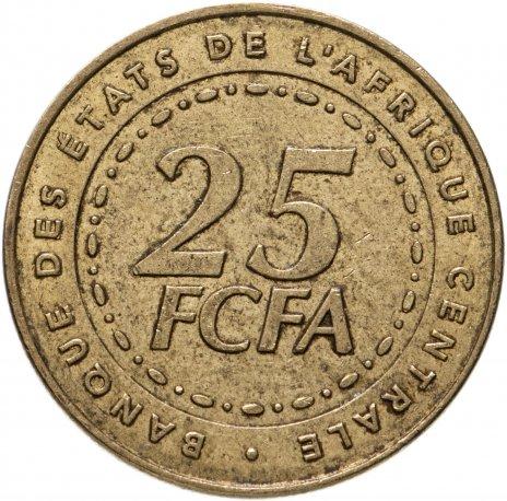 купить Центральная Африка (BEAC) 25 франков (francs) 2006