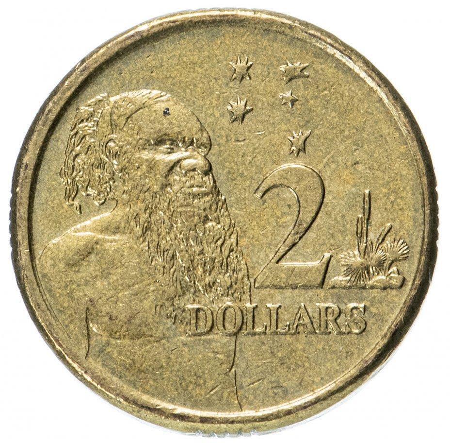 купить Австралия 2 доллара (dollars) 2007