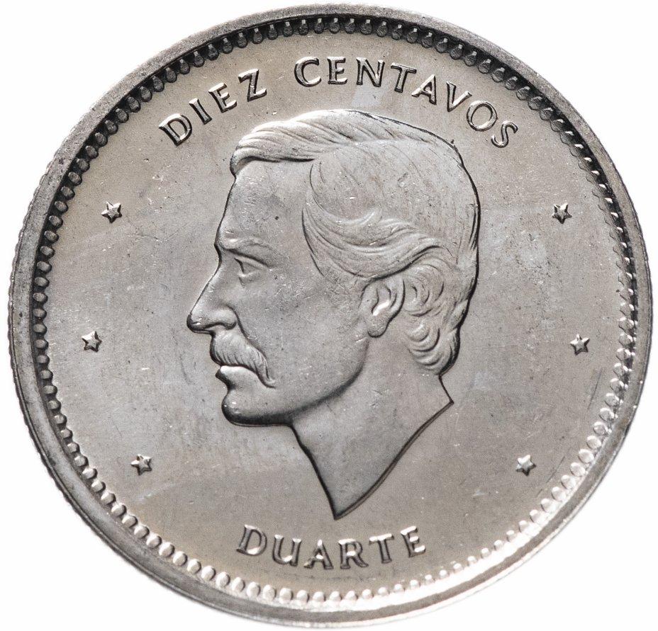 купить Доминикана 10 сентаво (centavos) 1987
