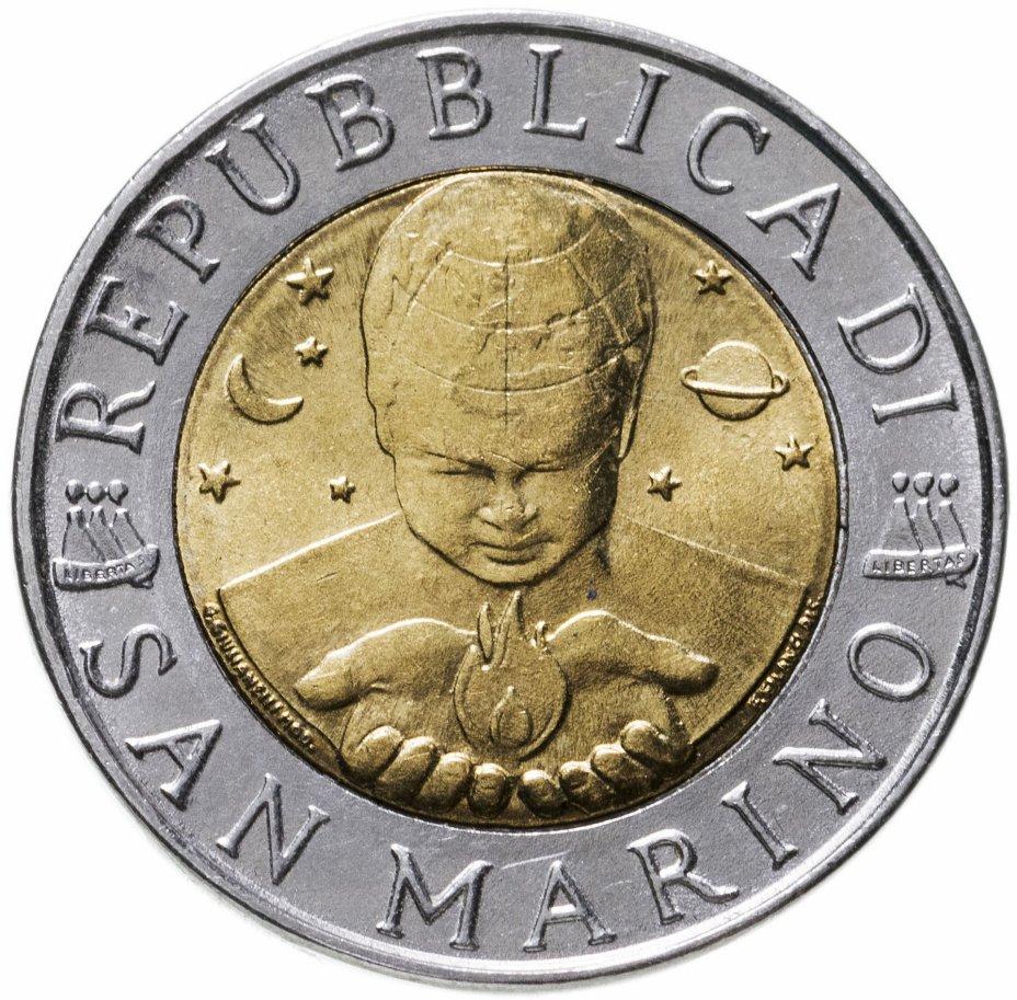 купить Сан-Марино 500лир (lire) 1998