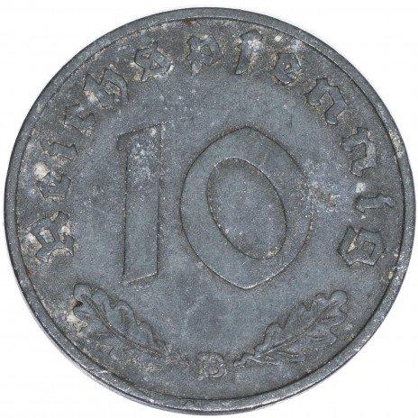 купить Третий Рейх 10 рейхспфеннигов 1940