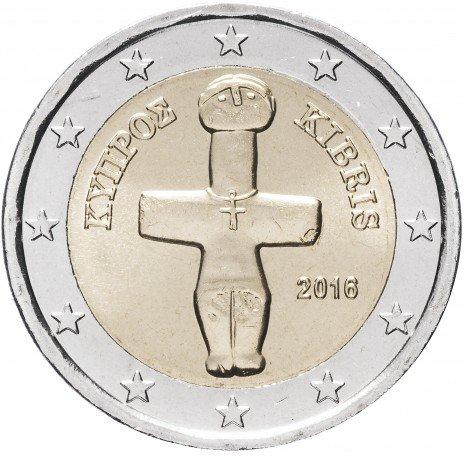 купить Кипр 2 евро 2016