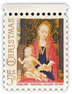 """купить США 5 центов 1966 """"Рождество. Мадонна с ребенком"""""""