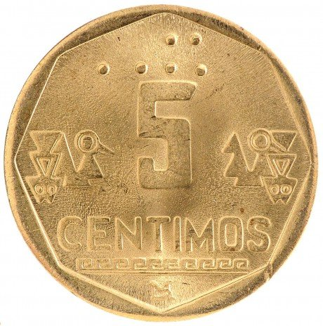 купить 5 сентимо 1998 Перу