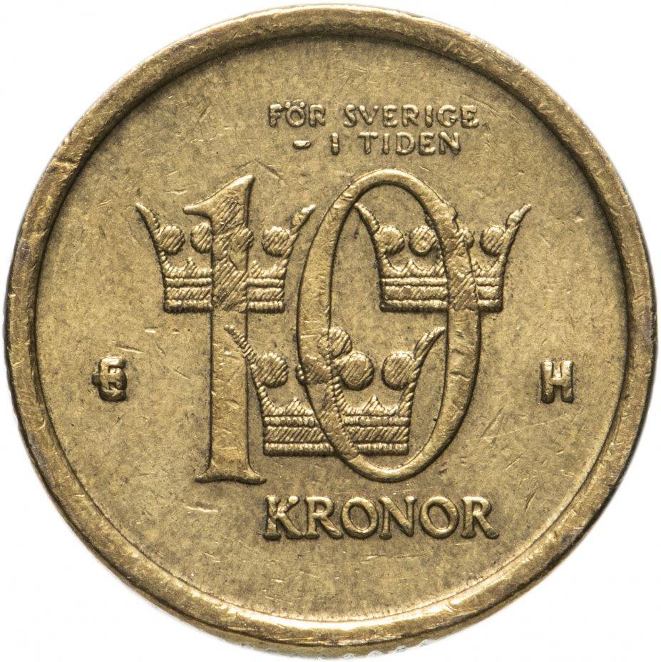купить Швеция 10крон (kronor) 2001-2009, случайная дата