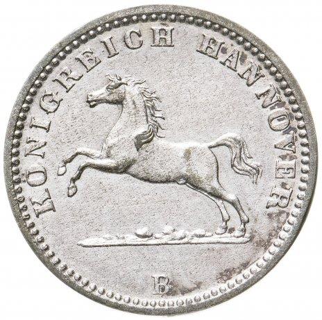 купить Ганновер (Германия) 1 грошен 1864