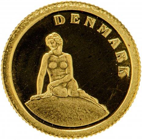 """купить Либерия 12 долларов 2008 """"Европейские страны - Дания"""""""