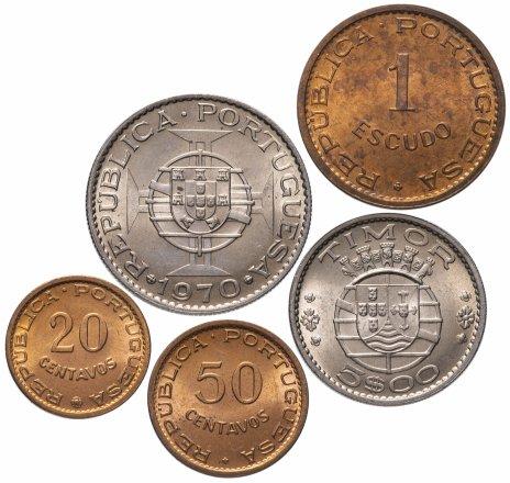 купить Тимор (колония Португалии) набор монет 1970