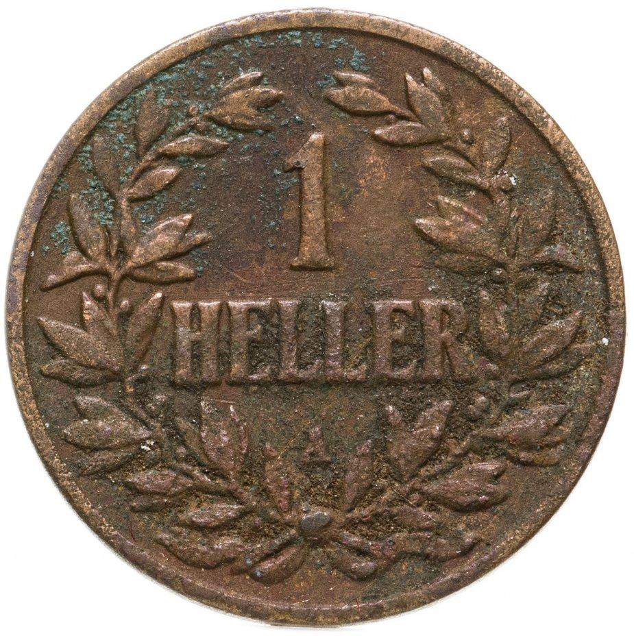 """купить Германская Восточная Африка 1 геллер 1904 """"A"""""""
