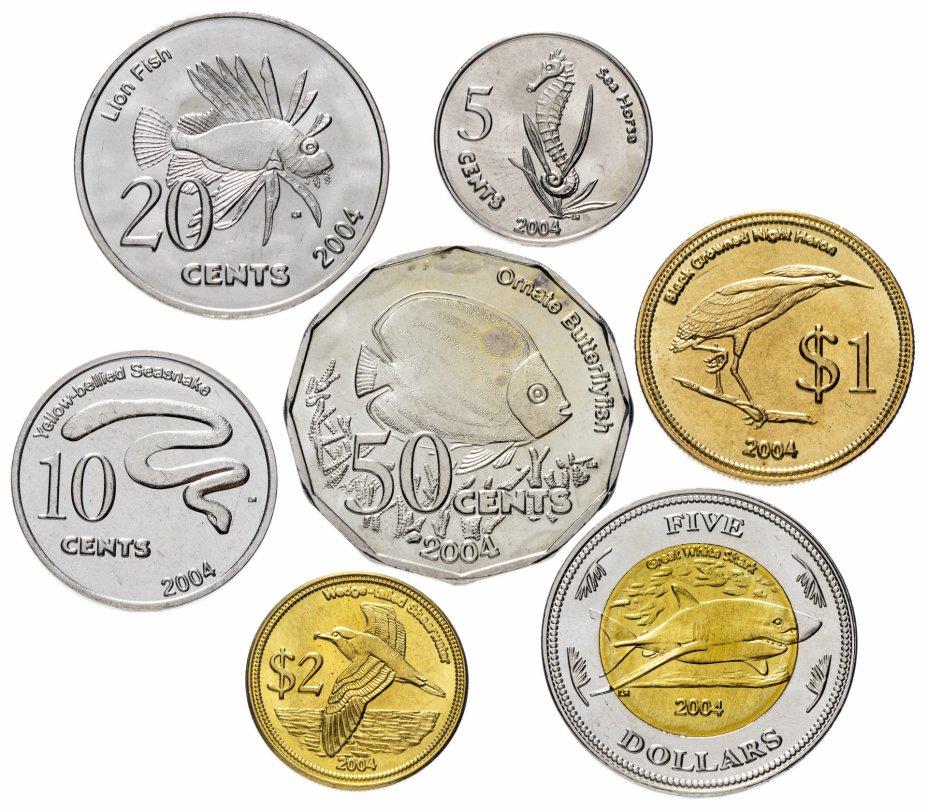 купить Австралия (Кокосовые острова) набор из 7 жетонов 2004