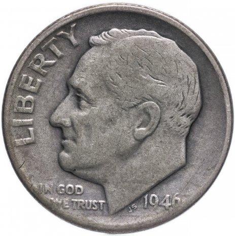 купить США 1 дайм (10 центов) 1946