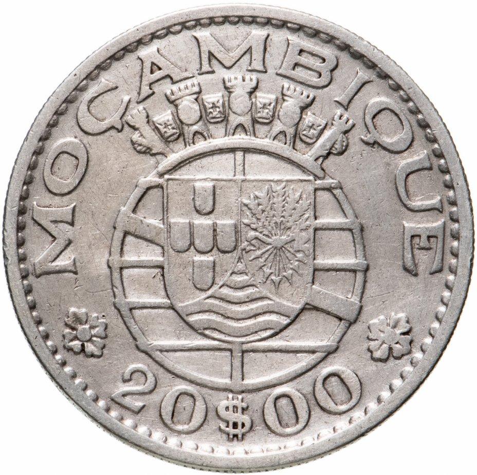купить Португальский Мозамбик 20 эскудо (escudos) 1960