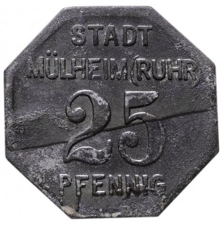 купить Германия, Мюльхайм 25 пфенниг 1917