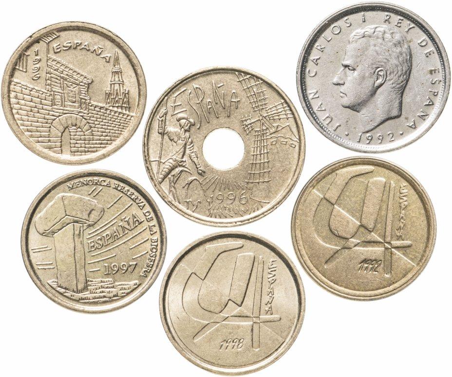 купить Испания набор из 6 монет 1992-1998