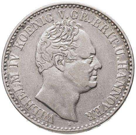 купить Ганновер 1 талер 1836 B, Вильгельм IV