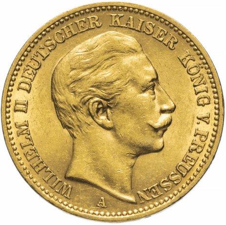 """купить Германия (Пруссия) 20 марок 1895 """"А"""""""