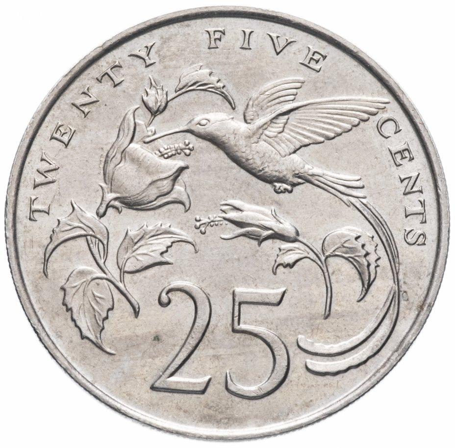купить Ямайка 25 центов (cents) 1986